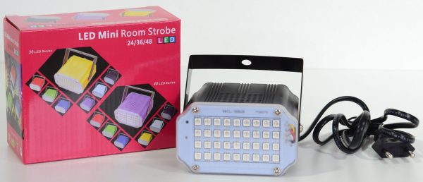 LED Strobe discolamp wit-0