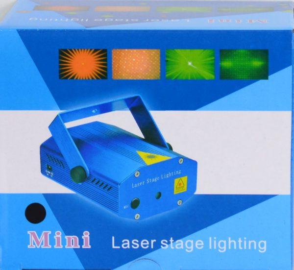 Mini kerst Laser projector