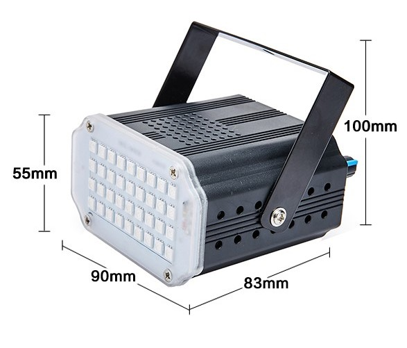 LED Strobe discolamp wit-617