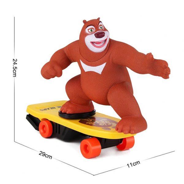 Stunt beer op skateboard-971