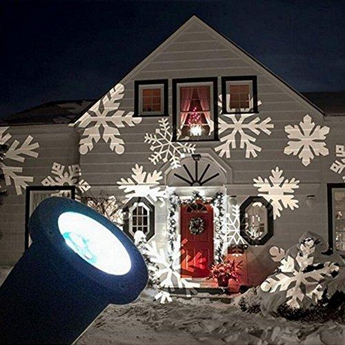 Tuin LED spot Kerst aluminium behuizing. Licht kleur: wit.-0