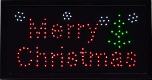 LED bord merry christmas-1038