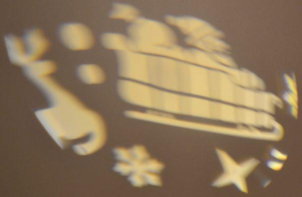 Tuin LED spot Kerst aluminum behuizing. Licht kleur: warm wit.-1056