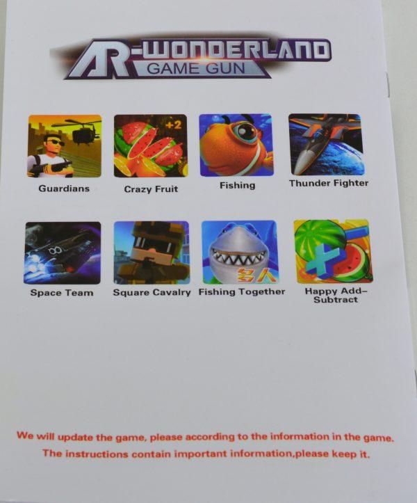 Game AR gun voor smartphone Groot-1128