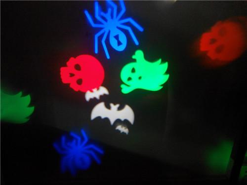 LED projector Haloween, Hartjes, Sneeuwvlokken & Kerst 3w-1141