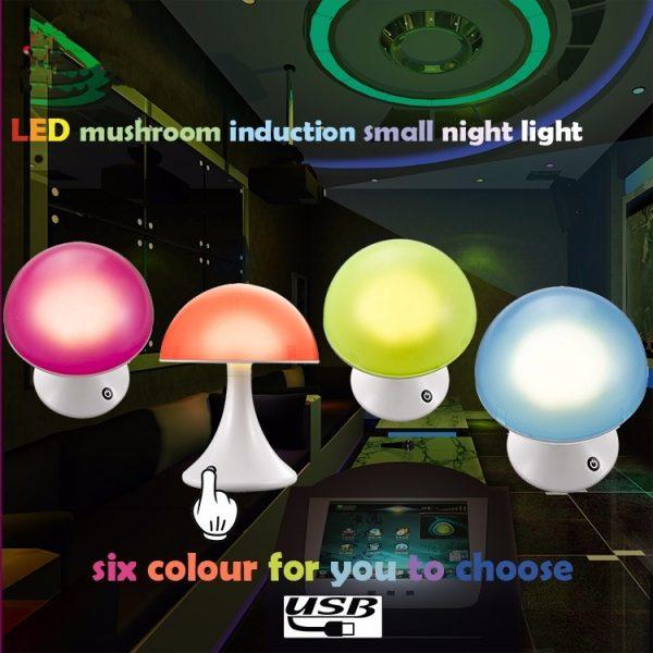 Mushroom sfeerlamp 16 kleuren-0