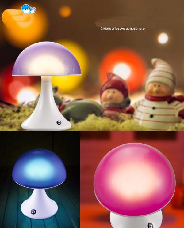Mushroom sfeerlamp 16 kleuren-1111