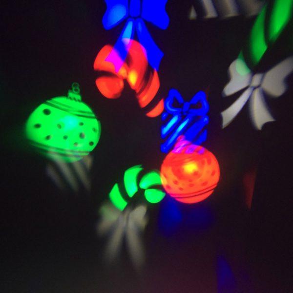LED projector Haloween, Hartjes, Sneeuwvlokken & Kerst 3w-1138