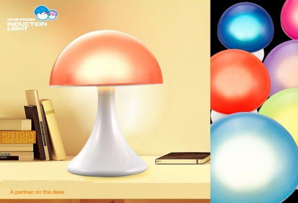 Mushroom sfeerlamp 16 kleuren-1114