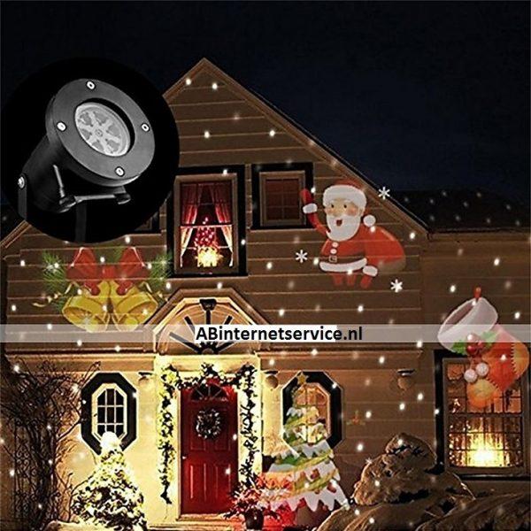 Tuin LED spot Kerst (11 extra kaarten) PVC behuizing.-0