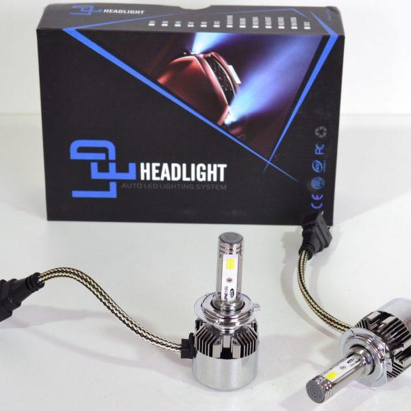 H7 LED VERLICHTING 2 Kleuren Wit/Geel-0